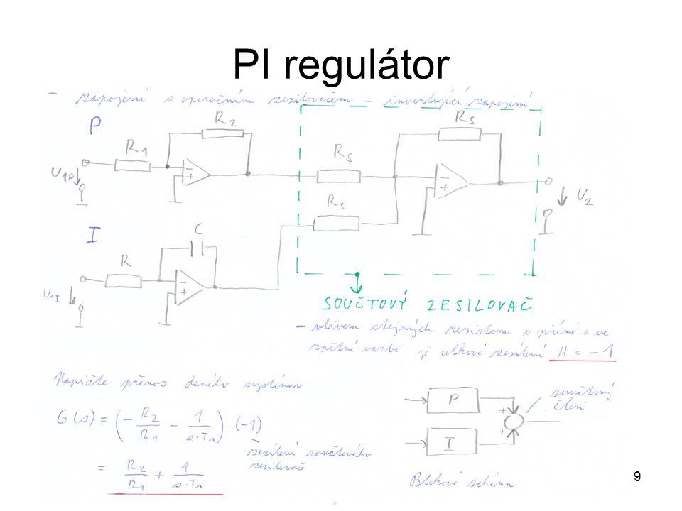 PI regulátor