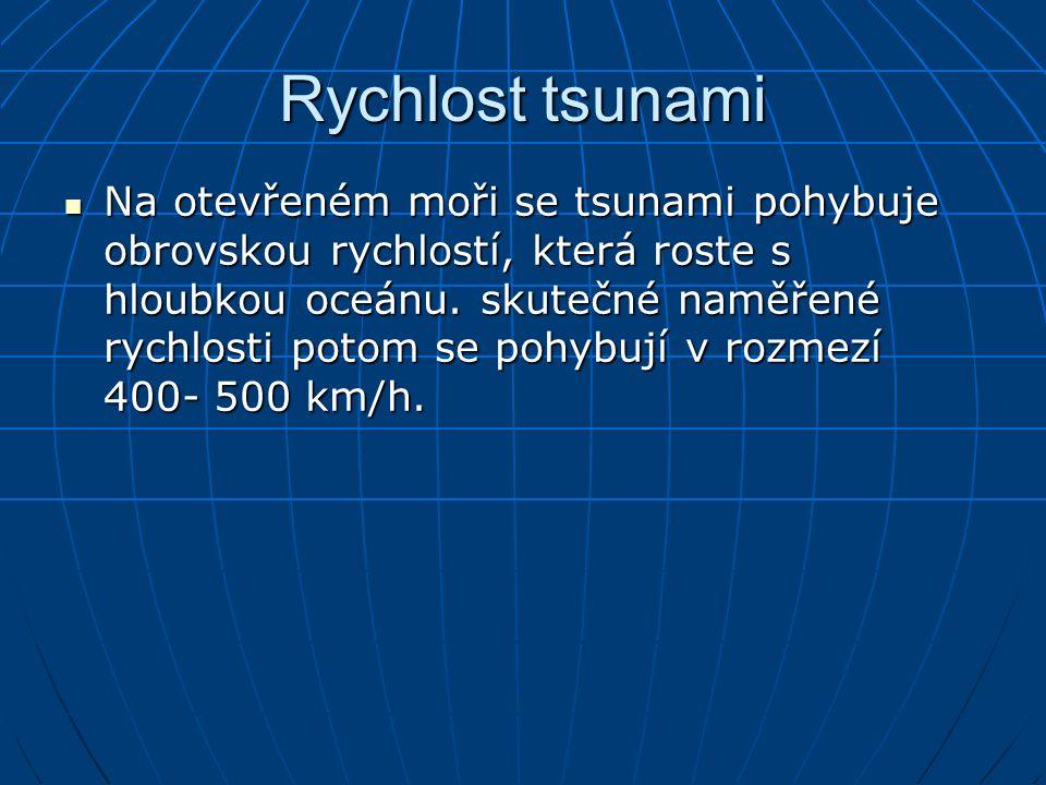 Rychlost tsunami