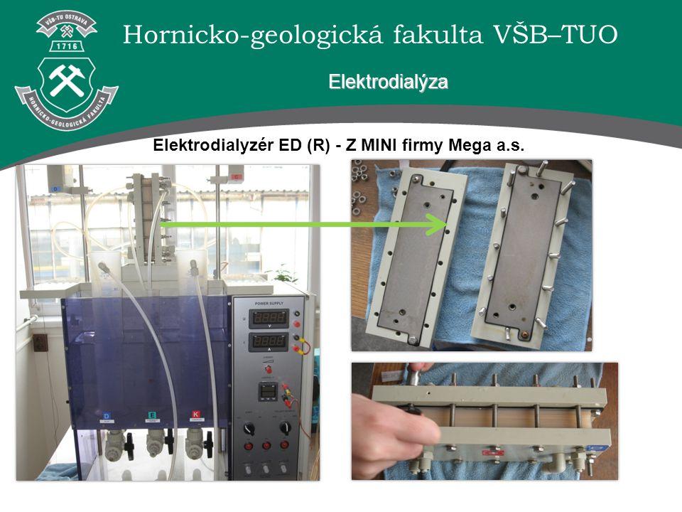 Elektrodialyzér ED (R) - Z MINI firmy Mega a.s.