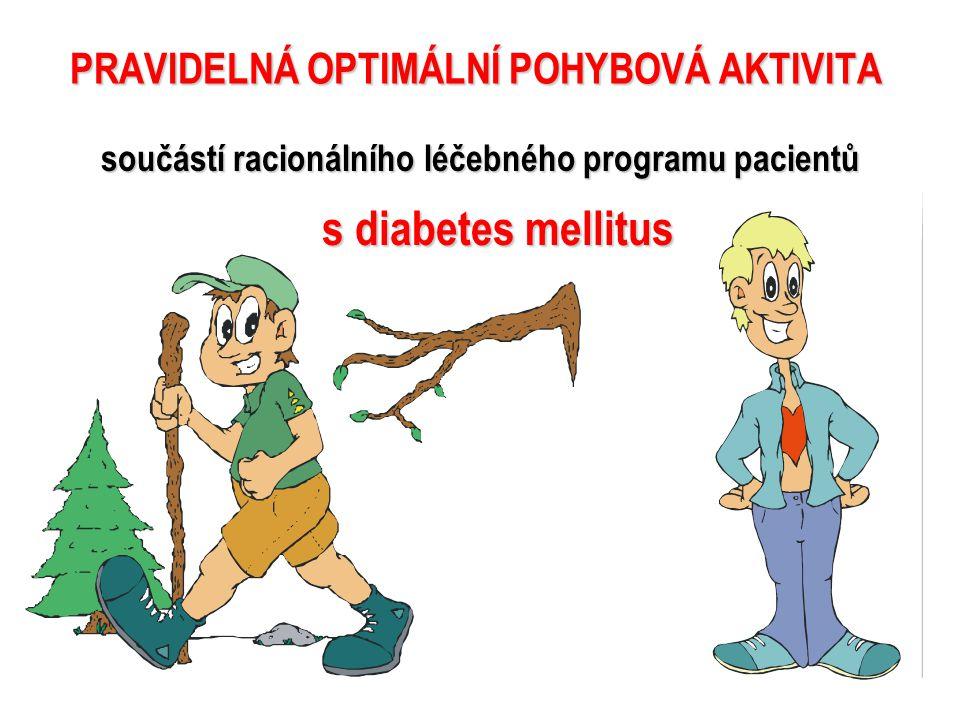 PRAVIDELNÁ OPTIMÁLNÍ POHYBOVÁ AKTIVITA
