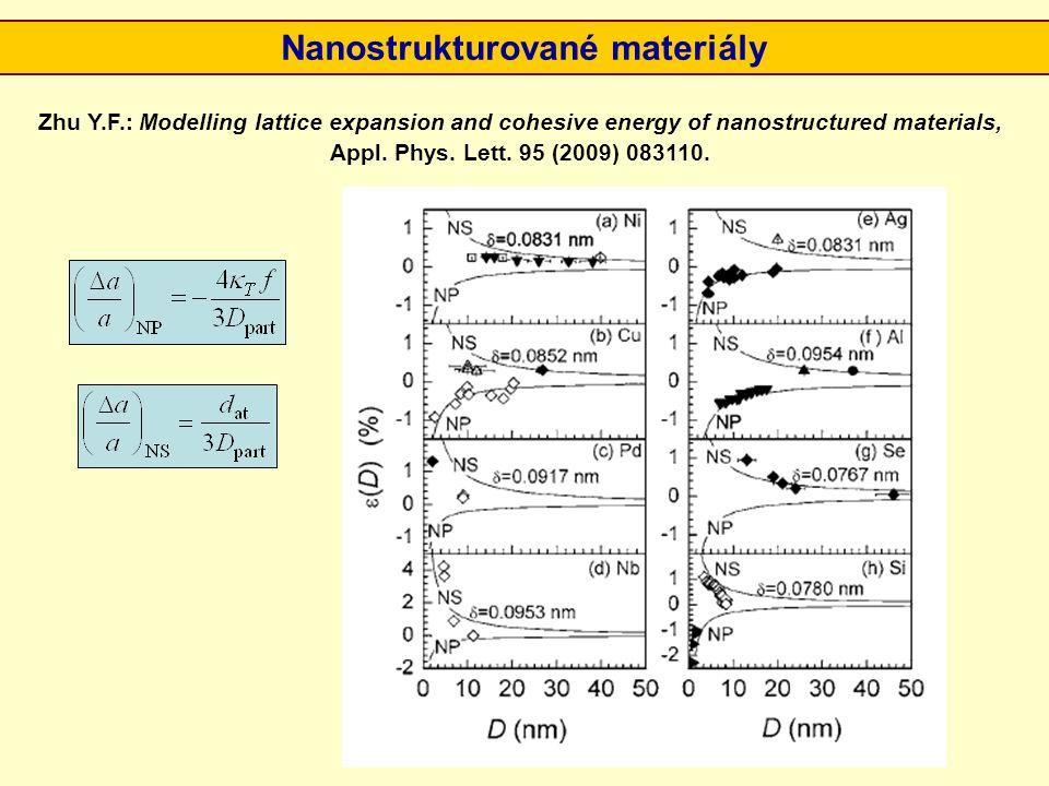 Nanostrukturované materiály