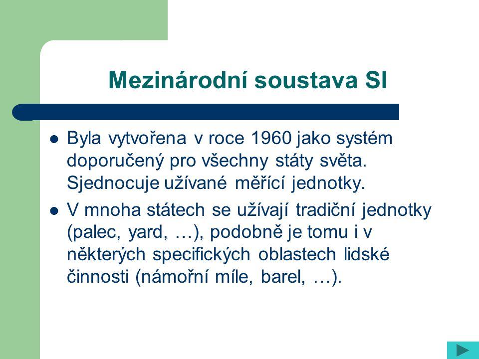 Mezinárodní soustava SI