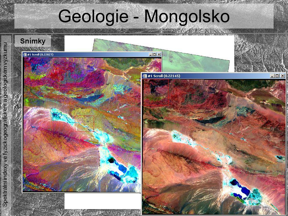 Geologie - Mongolsko Snímky