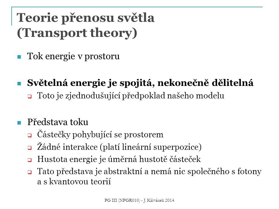 Teorie přenosu světla (Transport theory)