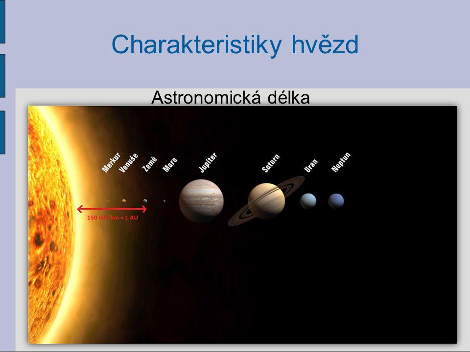 Charakteristiky hvězd