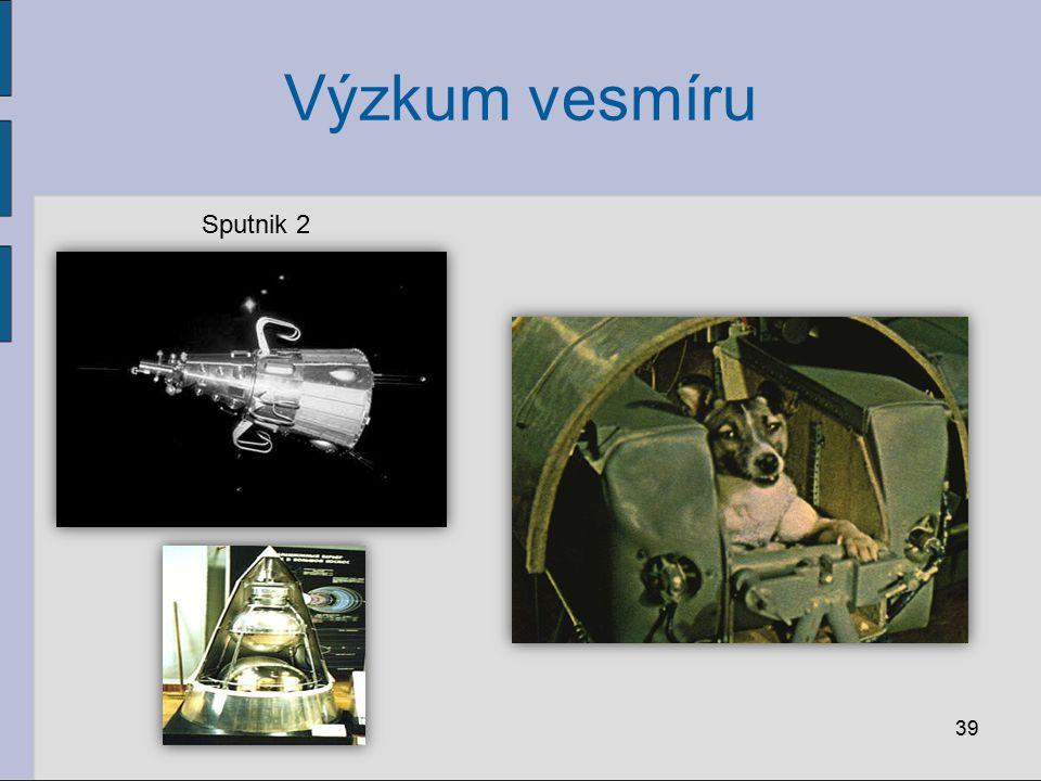 Výzkum vesmíru Sputnik 2