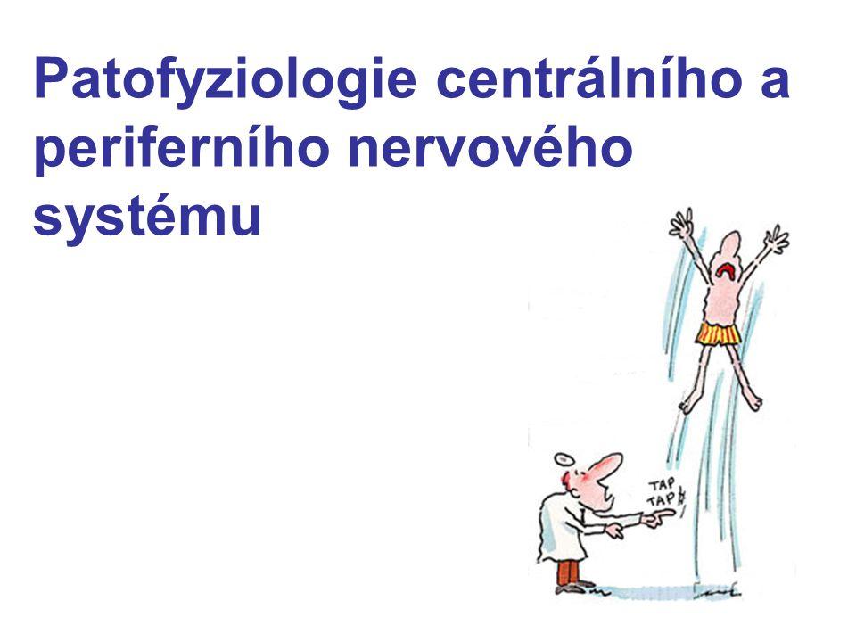 Patofyziologie centrálního a periferního nervového systému
