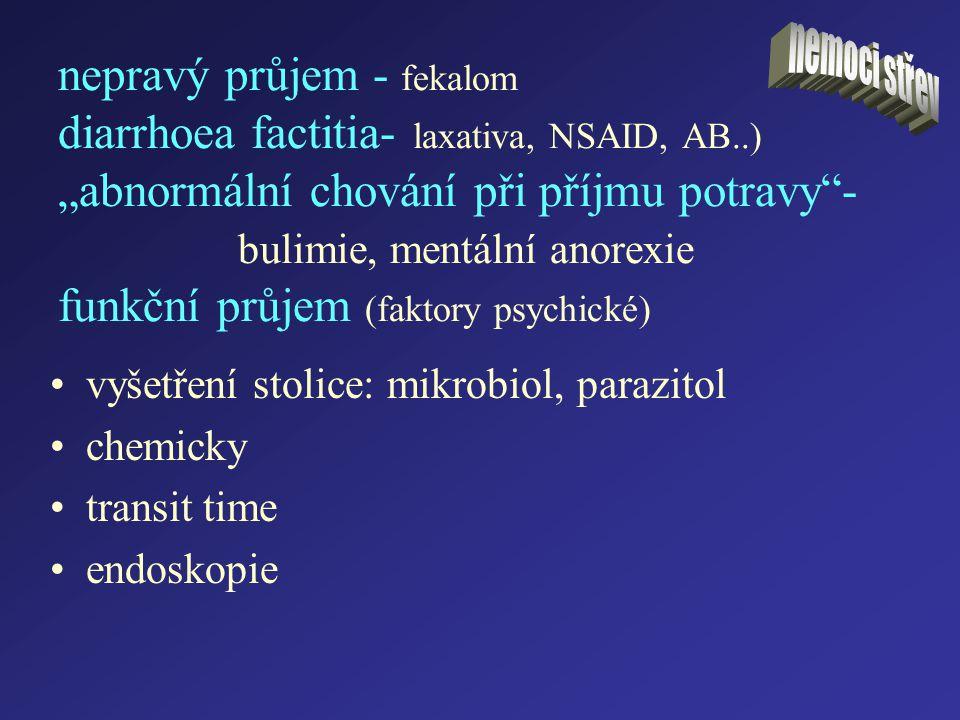 nemoci střev