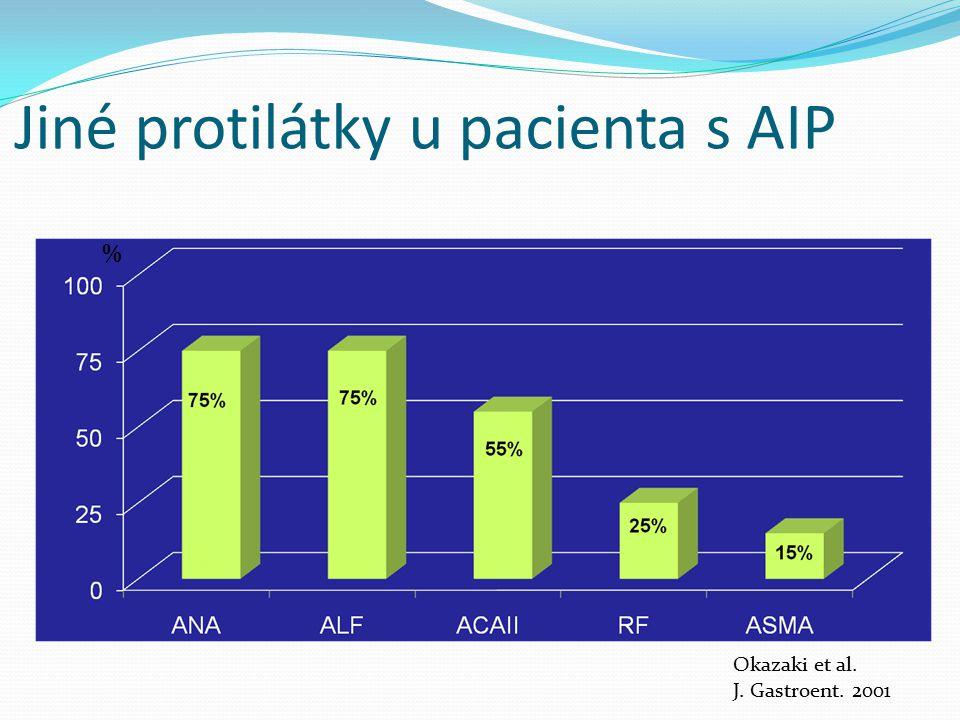 Jiné protilátky u pacienta s AIP