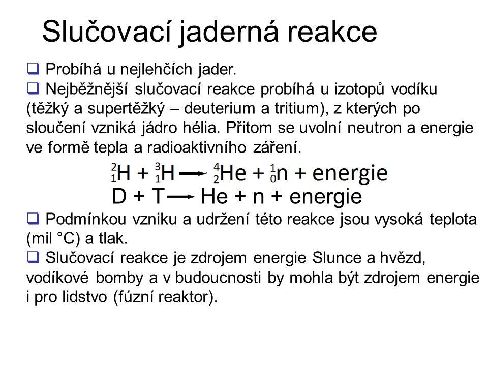 Slučovací jaderná reakce