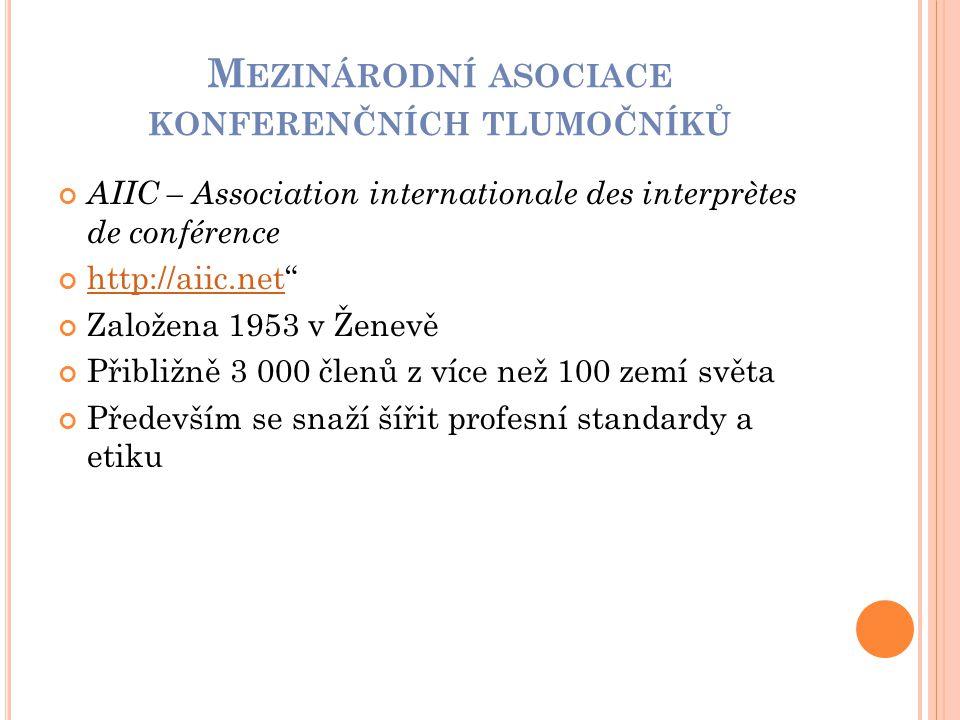 Mezinárodní asociace konferenčních tlumočníků