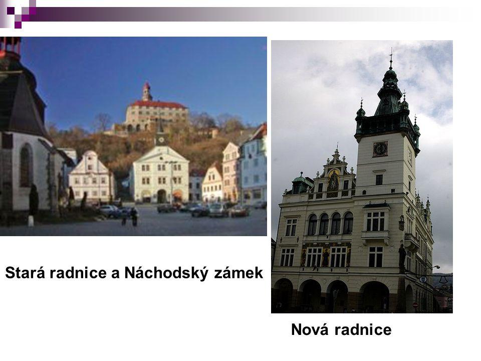 Stará radnice a Náchodský zámek