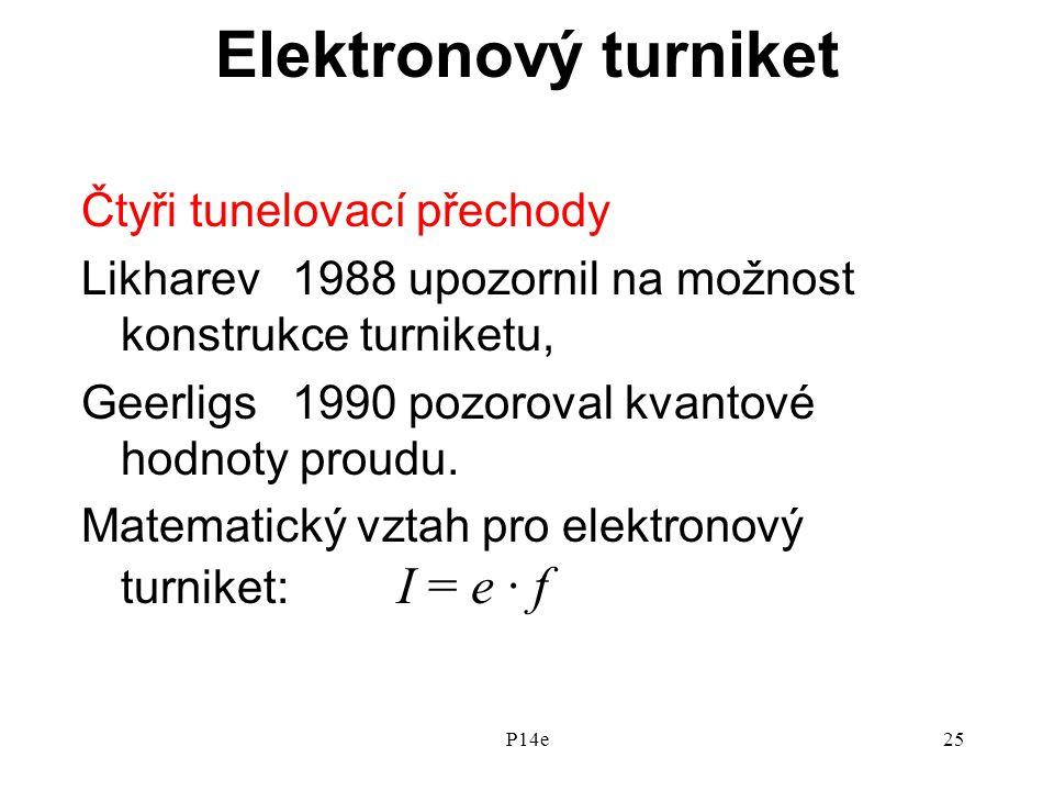 Elektronový turniket Čtyři tunelovací přechody
