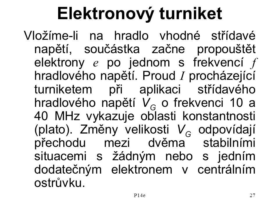Elektronový turniket
