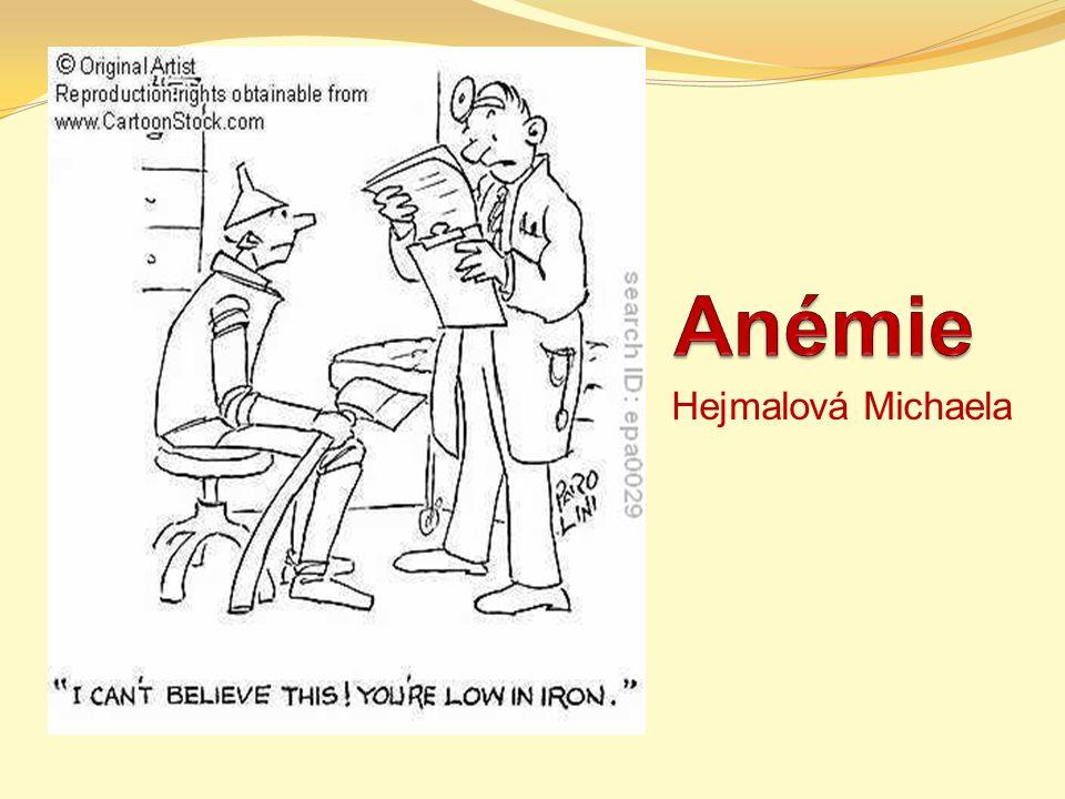 Anémie Hejmalová Michaela