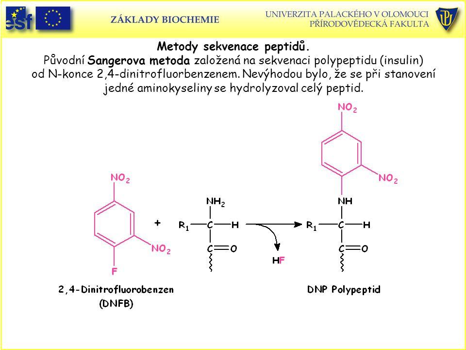 Metody sekvenace peptidů