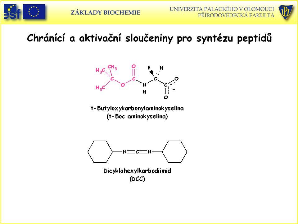 Chránící a aktivační sloučeniny pro syntézu peptidů