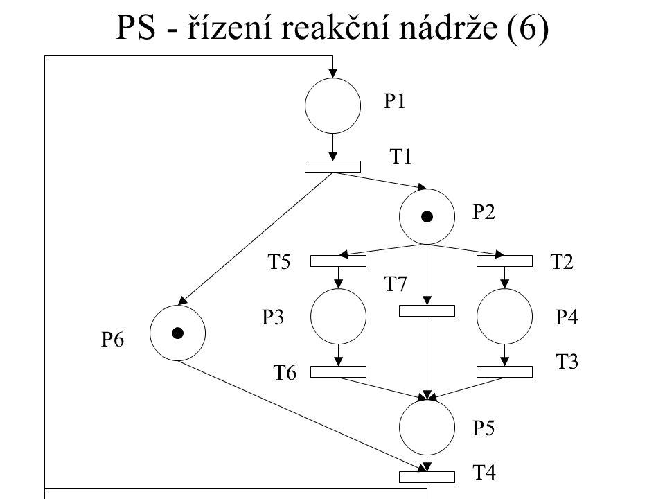 PS - řízení reakční nádrže (6)