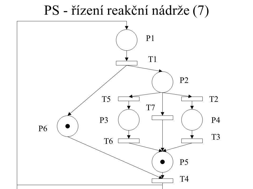 PS - řízení reakční nádrže (7)