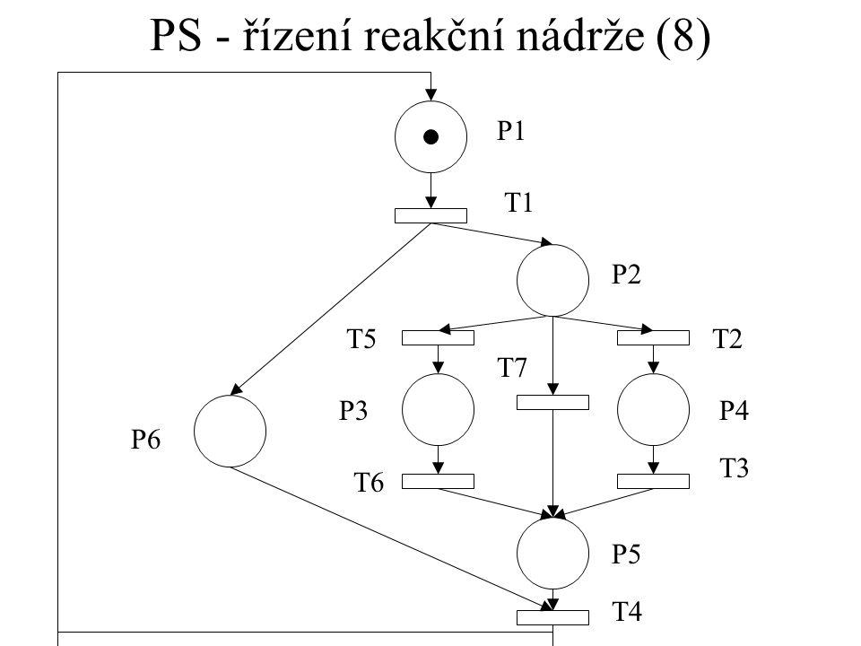 PS - řízení reakční nádrže (8)