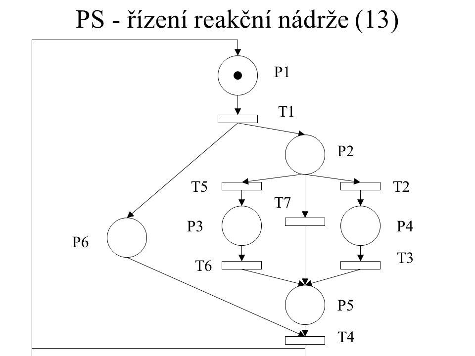 PS - řízení reakční nádrže (13)