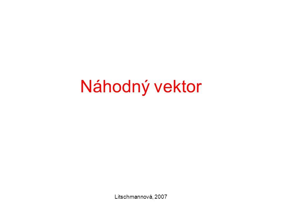 Náhodný vektor Litschmannová, 2007