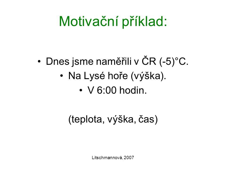 Dnes jsme naměřili v ČR (-5)°C.