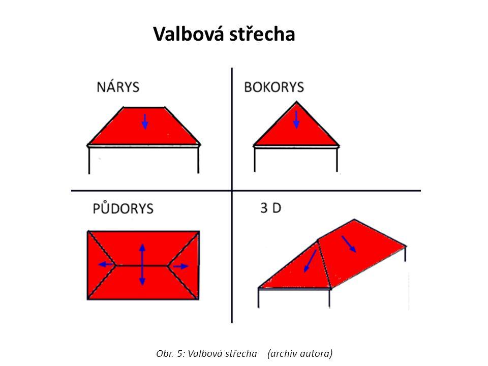 Obr. 5: Valbová střecha (archiv autora)