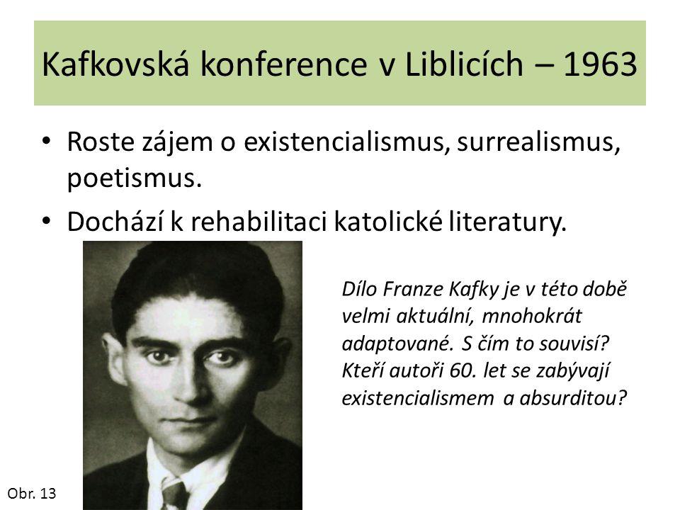 Kafkovská konference v Liblicích – 1963