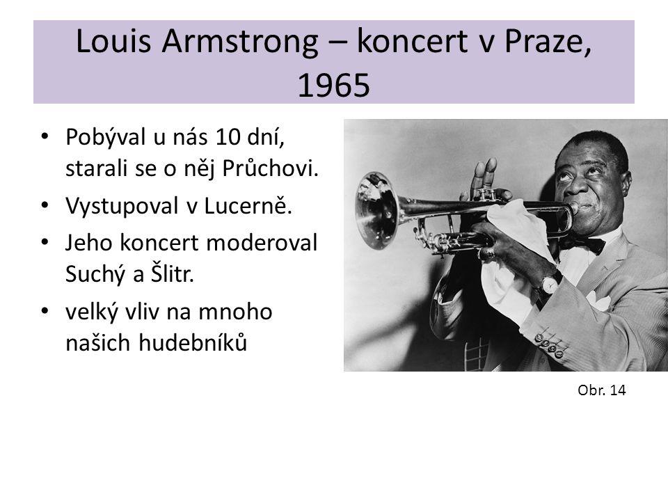 Louis Armstrong – koncert v Praze, 1965