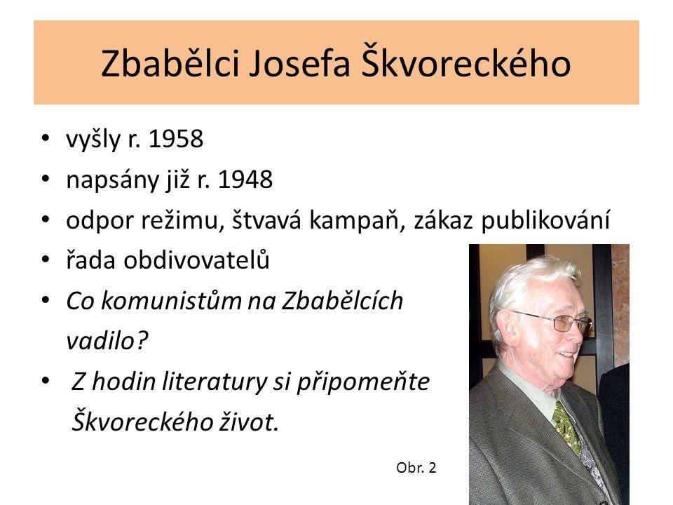 Zbabělci Josefa Škvoreckého