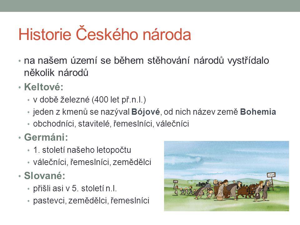 Historie Českého národa