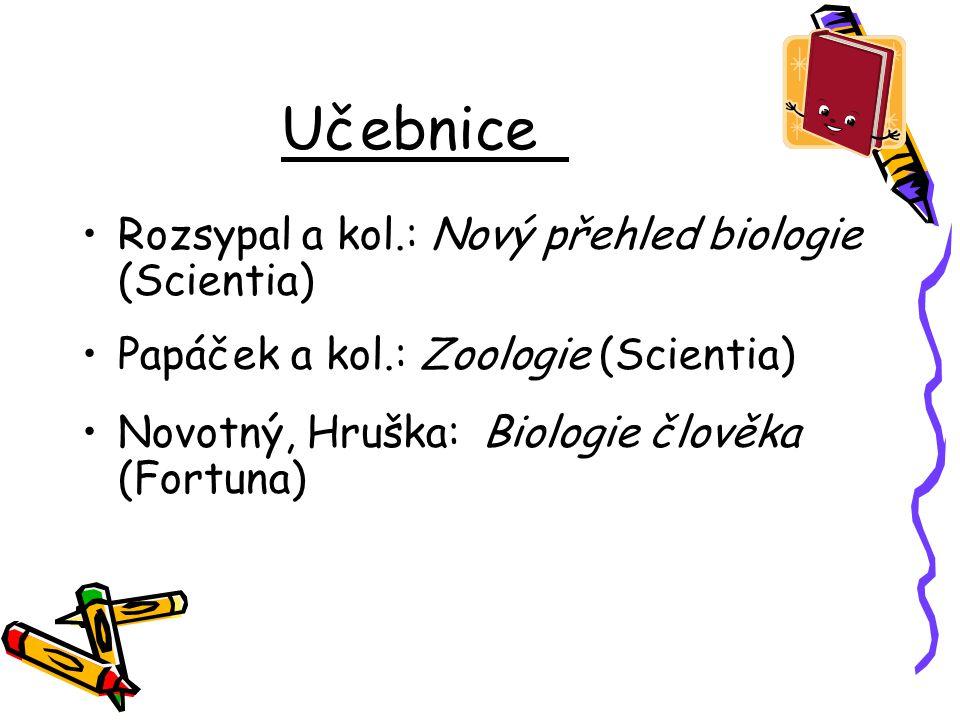 Učebnice Rozsypal a kol.: Nový přehled biologie (Scientia)