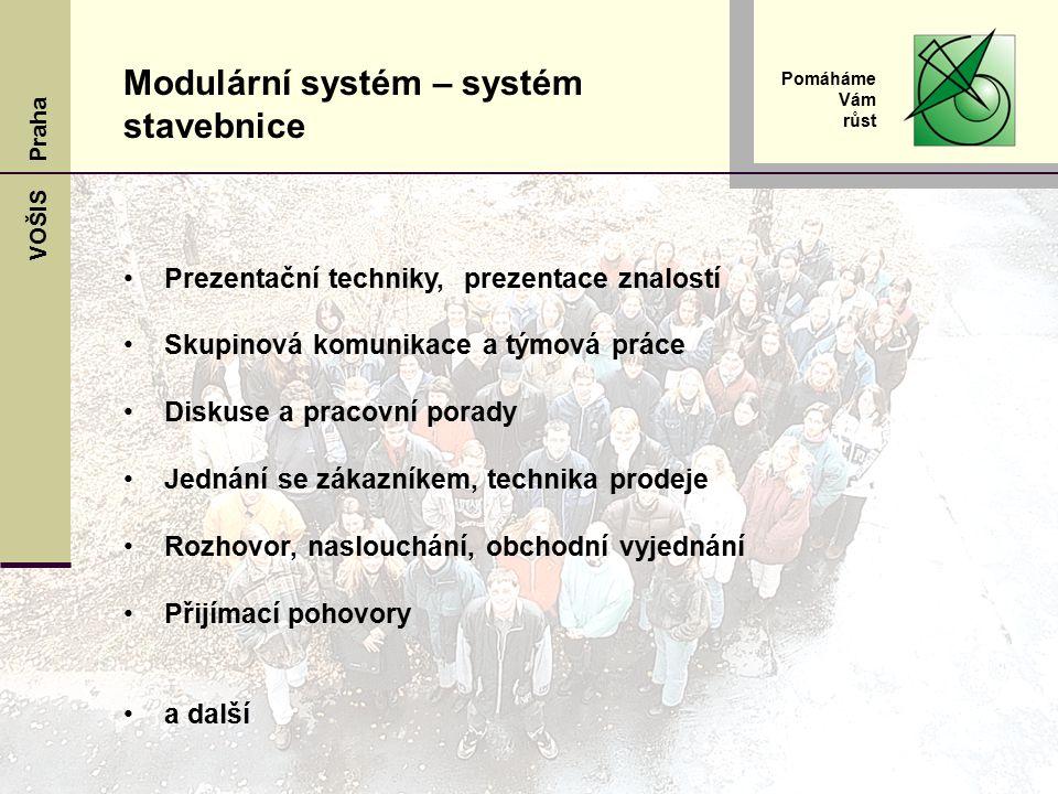 Modulární systém – systém stavebnice