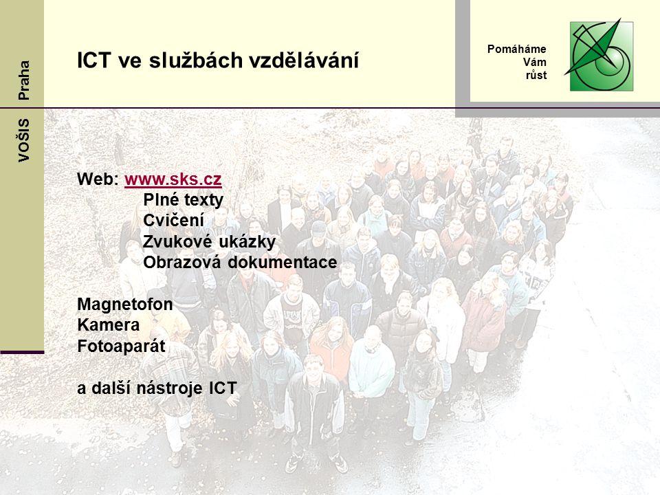 ICT ve službách vzdělávání