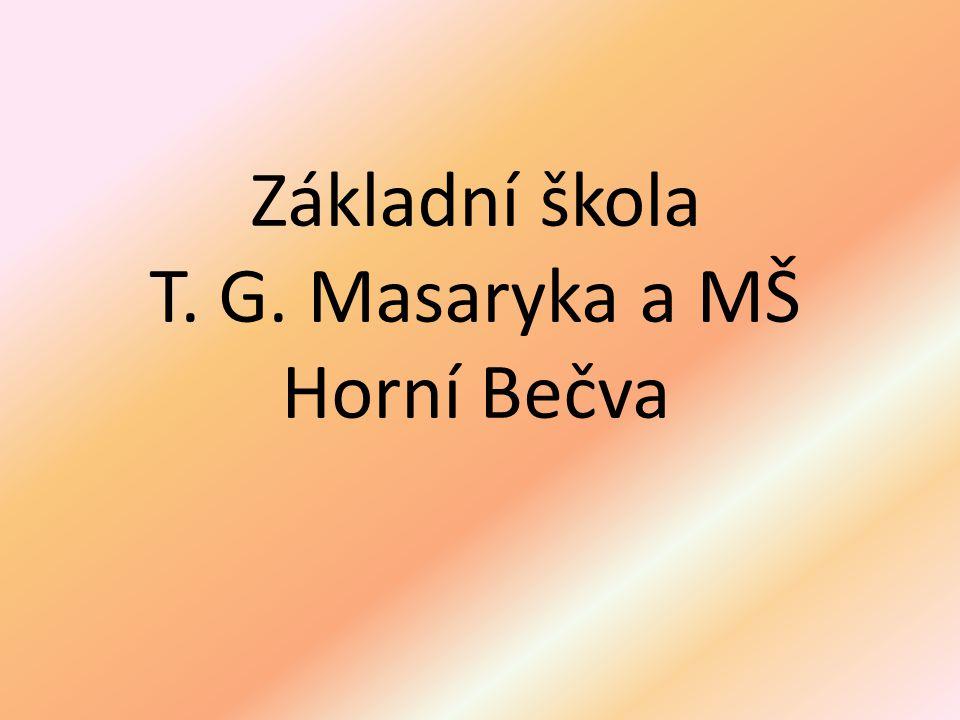 Základní škola T. G. Masaryka a MŠ Horní Bečva