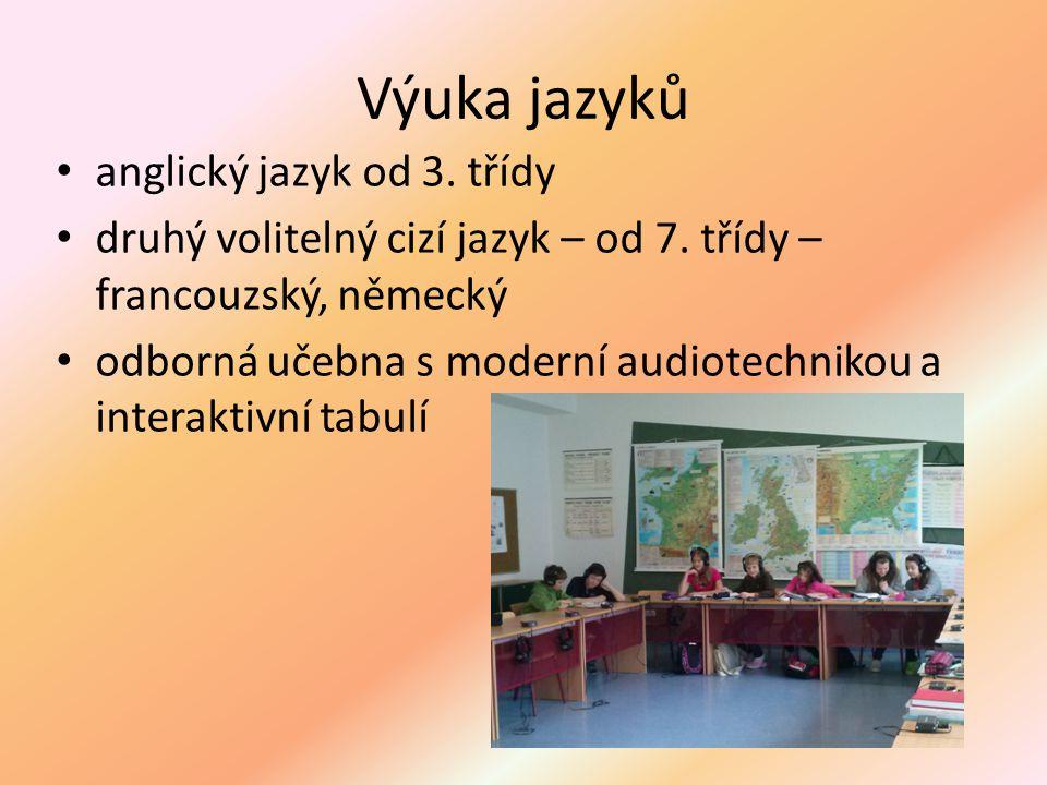 Výuka jazyků anglický jazyk od 3. třídy