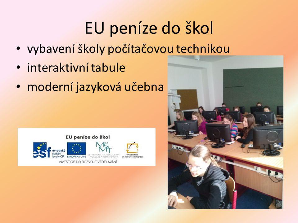 EU peníze do škol vybavení školy počítačovou technikou