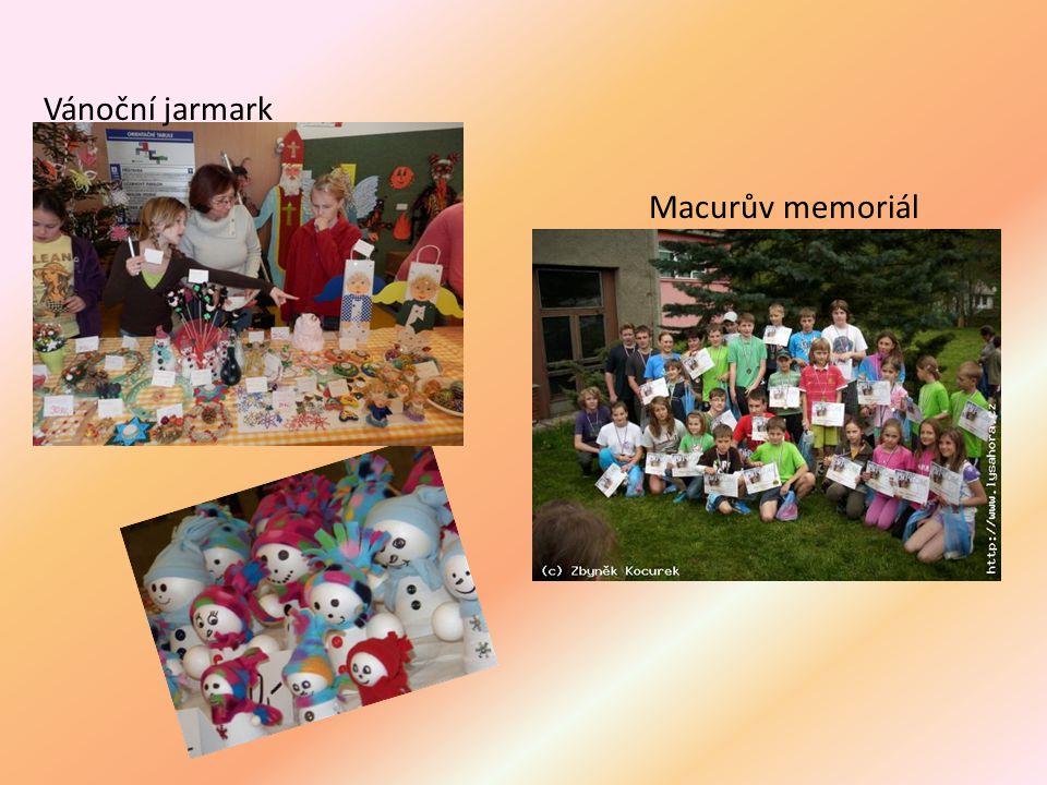 Vánoční jarmark Macurův memoriál