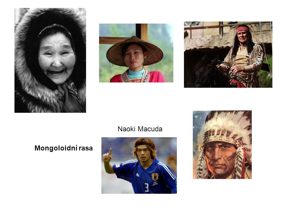Naoki Macuda Mongoloidní rasa