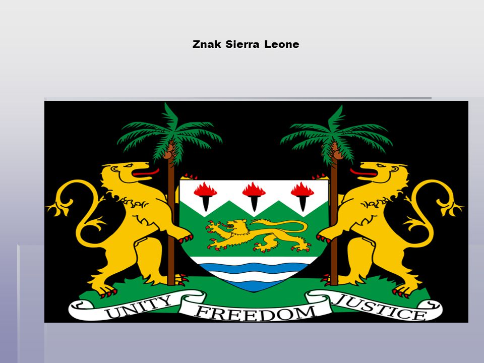 Znak Sierra Leone