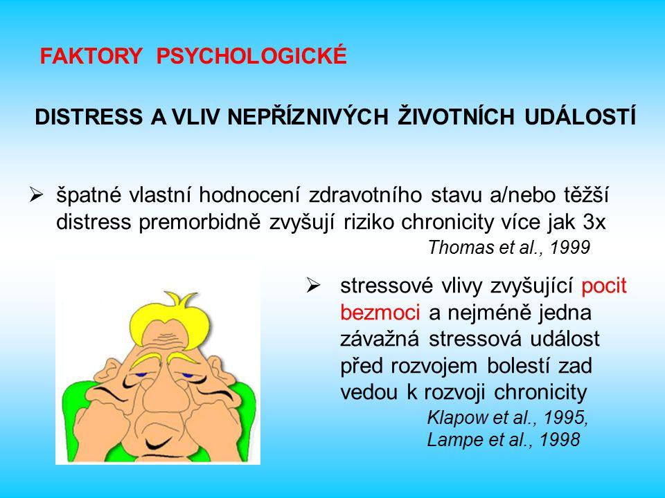 FAKTORY PSYCHOLOGICKÉ