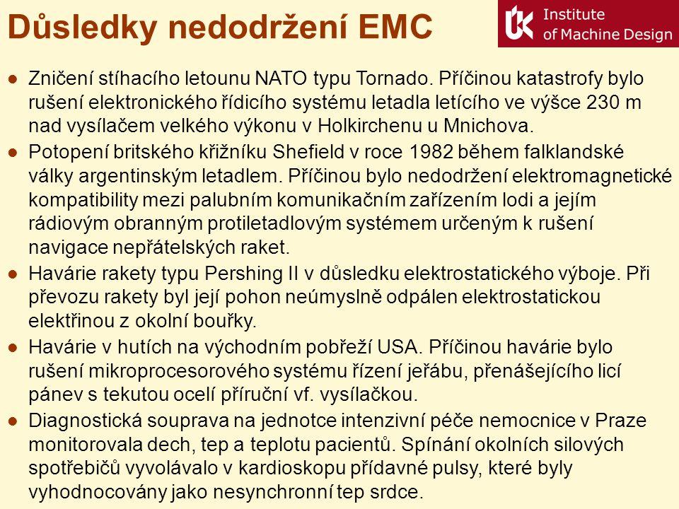 Důsledky nedodržení EMC