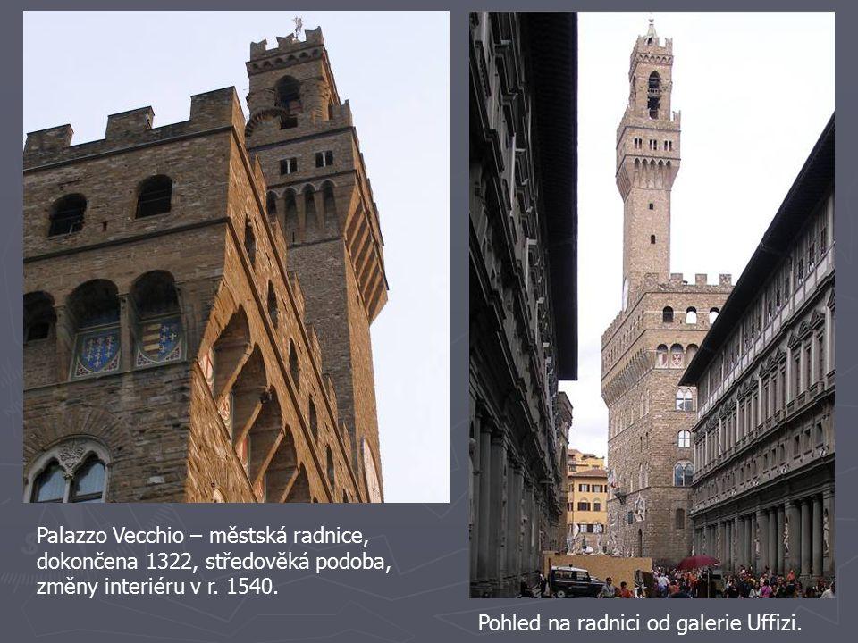 Palazzo Vecchio – městská radnice,