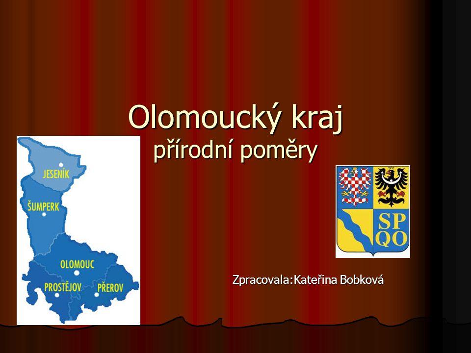 Olomoucký kraj přírodní poměry
