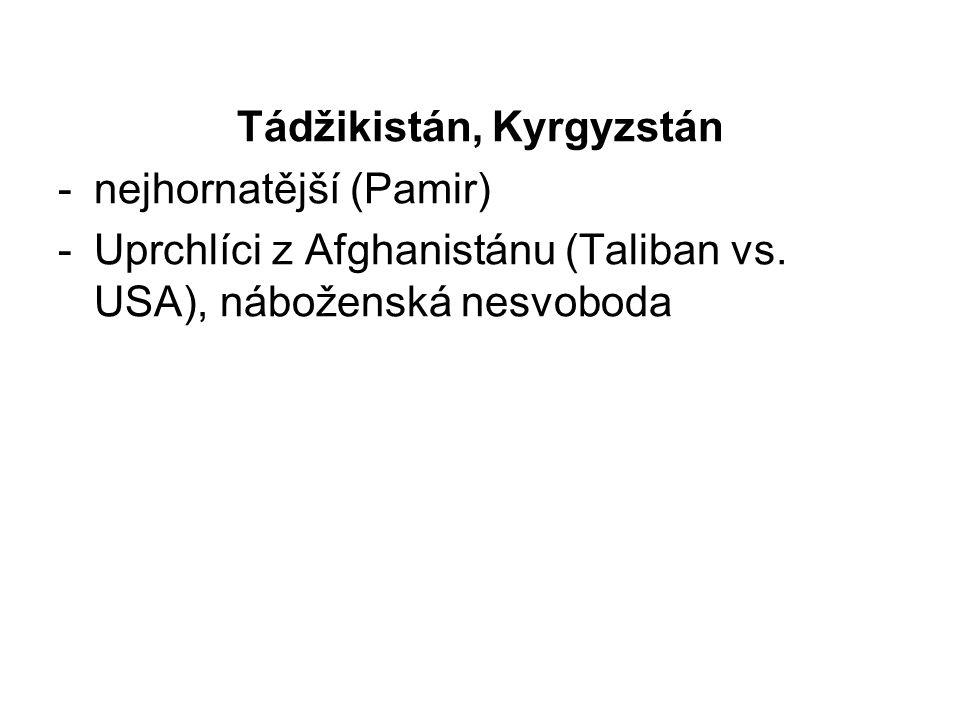 Tádžikistán, Kyrgyzstán