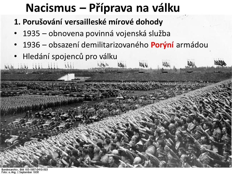 Nacismus – Příprava na válku