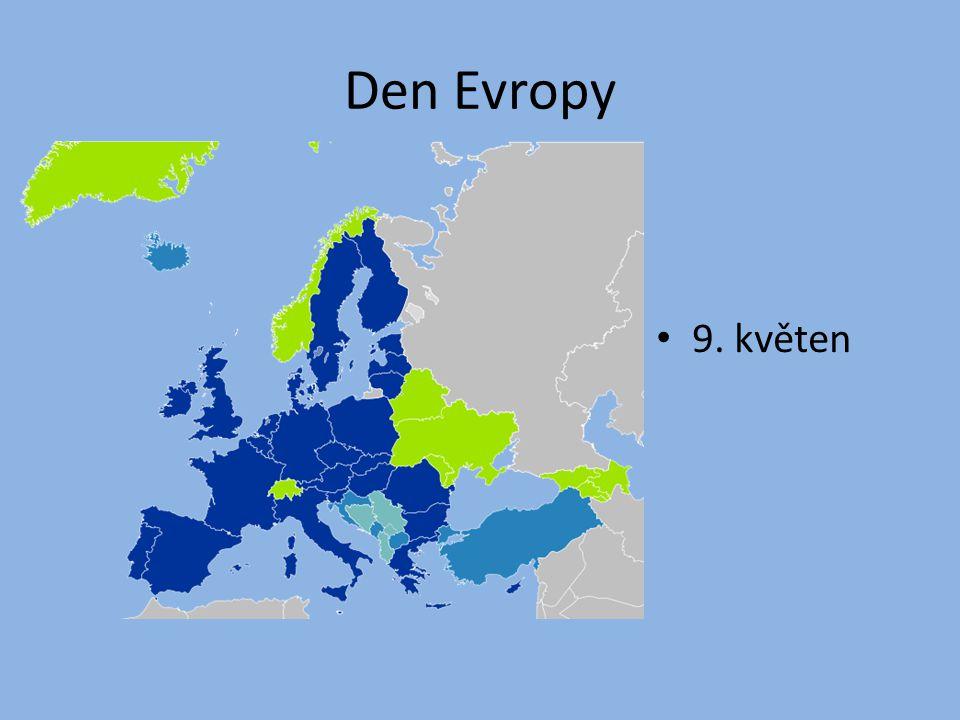 Den Evropy 9. květen