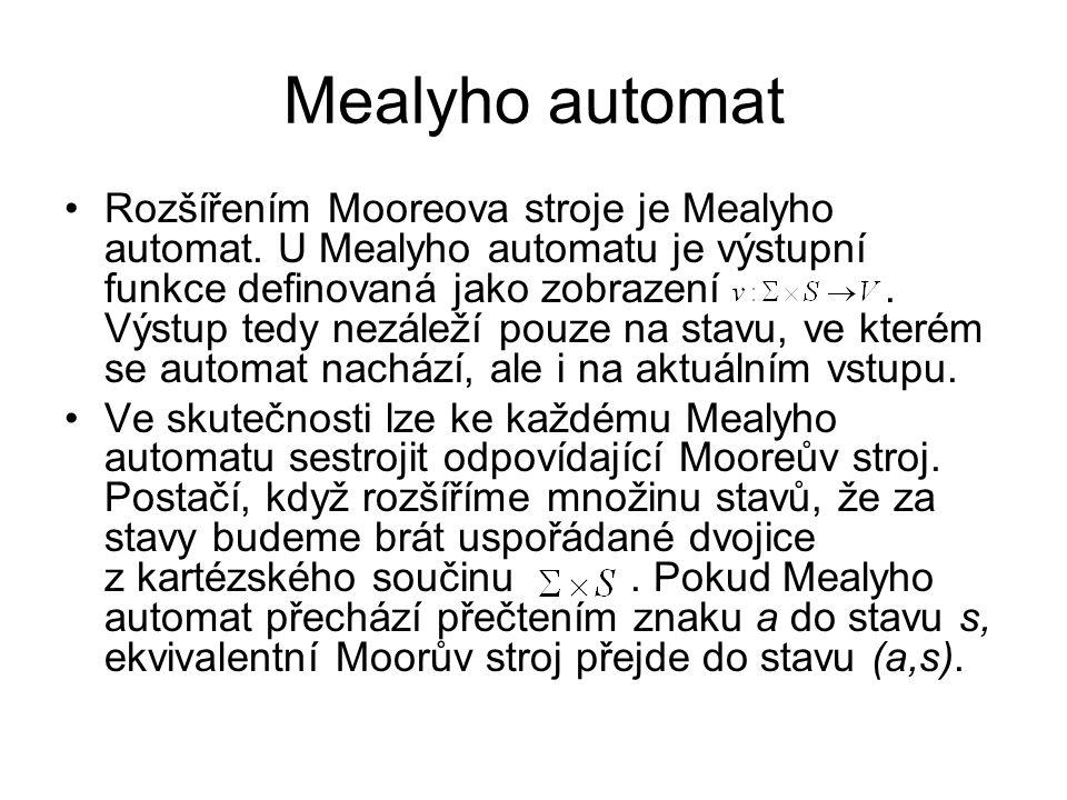 Mealyho automat