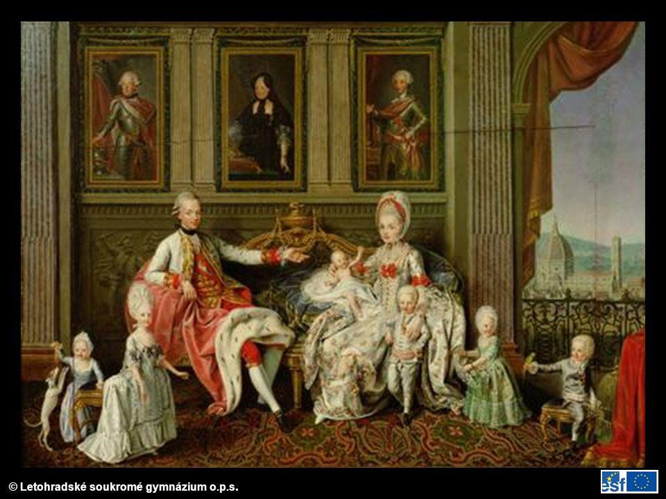 Leopold II. s rodinou
